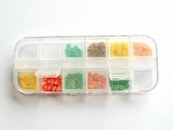 Storage box with 12 compartments
