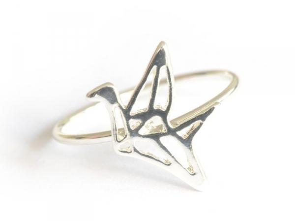 Acheter bague grue origami - couleur argent - 4,99€ en ligne sur La Petite Epicerie - 100% Loisirs créatifs