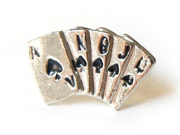 Bague Poker - cartes à jouer  - 1