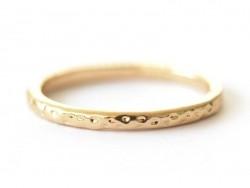 Acheter Bague fine - anneau martelé or - 4,99€ en ligne sur La Petite Epicerie - 100% Loisirs créatifs