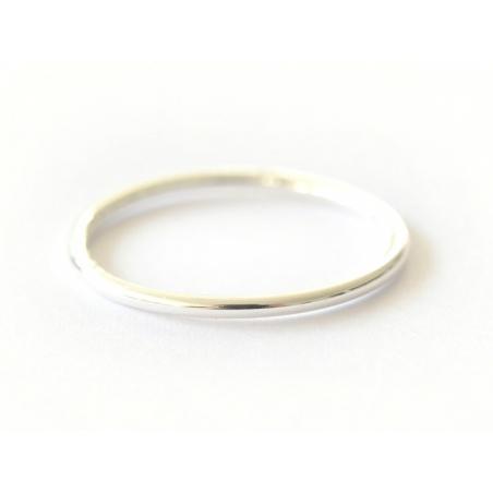 Acheter bague fine - anneau tout simple couleur argent - 4,99€ en ligne sur La Petite Epicerie - Loisirs créatifs