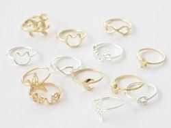 Schlichter Ring - goldfarbener Ring