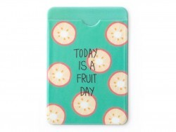 porte-carte - motifs agrumes  - Today is a fruit day