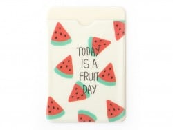 porte-carte - motifs pastèques  - Today is a fruit day