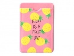 porte-carte - motifs ananas  - Today is a fruit day  - 1