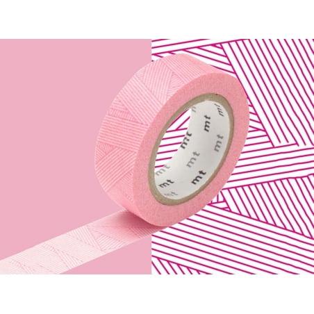 Patterned masking tape - red stripes Masking Tape - 2