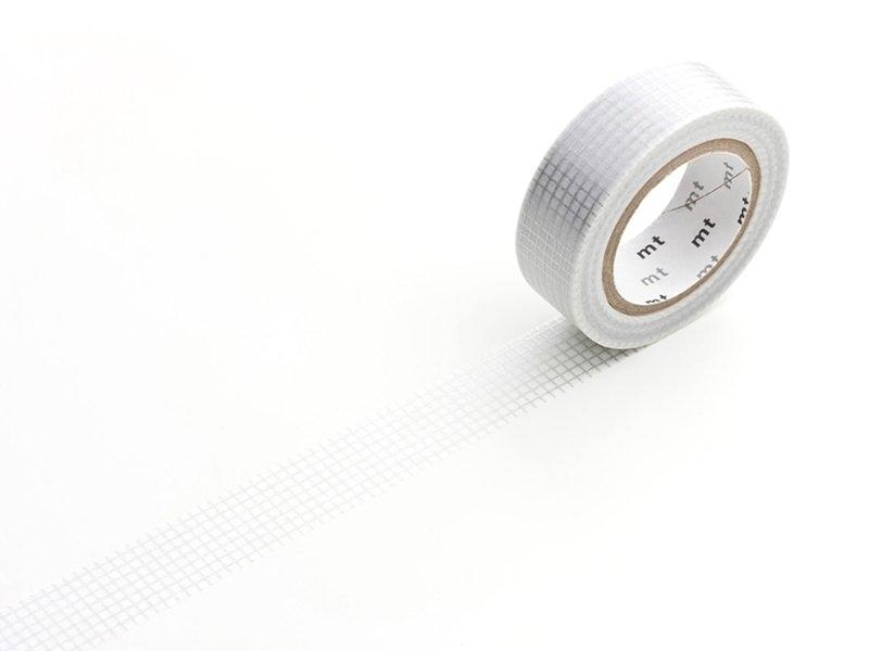 Patterned masking tape - silver-coloured squares Masking Tape - 1