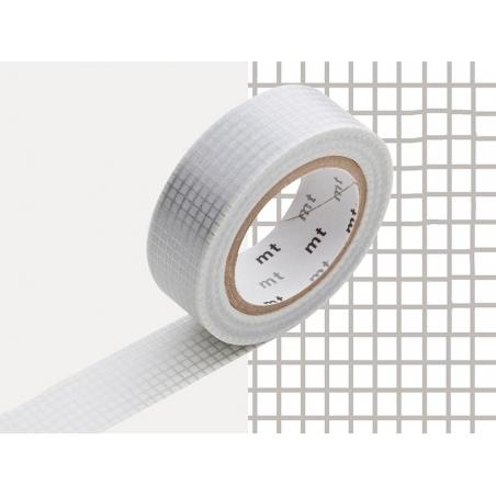Patterned masking tape - silver-coloured squares Masking Tape - 2