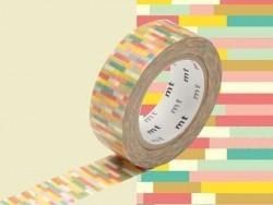 Masking Tape motif - block pink
