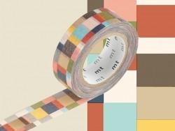 Masking Tape motif - mosaic