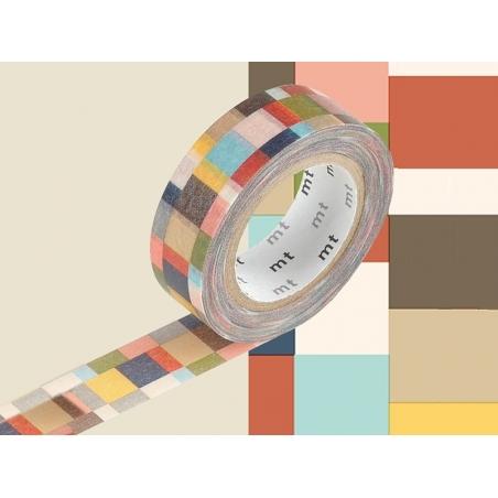 Acheter Masking tape motif - mosaic - 3,30€ en ligne sur La Petite Epicerie - Loisirs créatifs