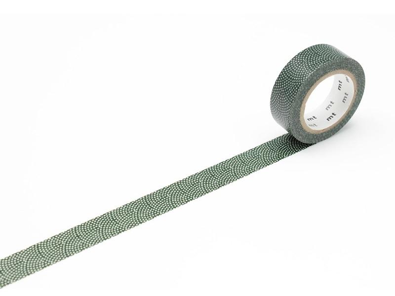 Acheter Masking Tape motif - Samekomon / pois rosace vert - 3,30€ en ligne sur La Petite Epicerie - 100% Loisirs créatifs