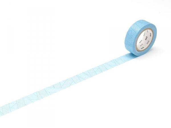 Acheter Masking tape à motifs - rayures cyan - 3,30€ en ligne sur La Petite Epicerie - 100% Loisirs créatifs