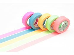 Boite cadeau Masking tape - Neon