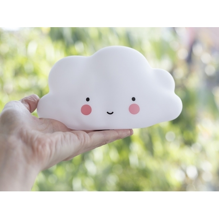 Cloud night light - white