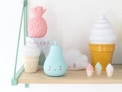 Acheter Veilleuse poire - bleu - 9,95€ en ligne sur La Petite Epicerie - Loisirs créatifs