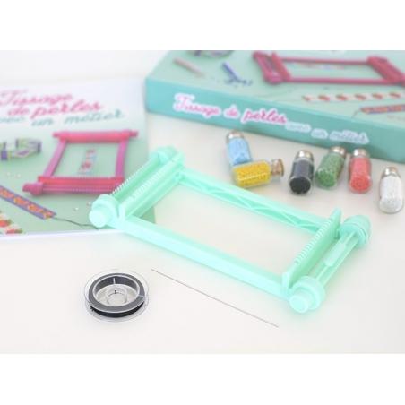 Grilles Vierges pour Tissage de Perles avec m/étier /à Tisser Format A4 x10