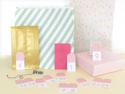 Gift tags - Advent