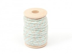Sand-coloured/blue Baker's Twine