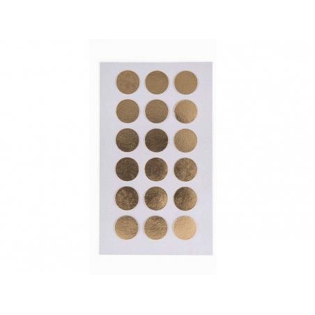 Stickers pois dorés Rico Design - 1