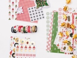 Set de 5 masking tape - Noël