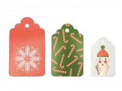Etiquettes cadeaux - Noël