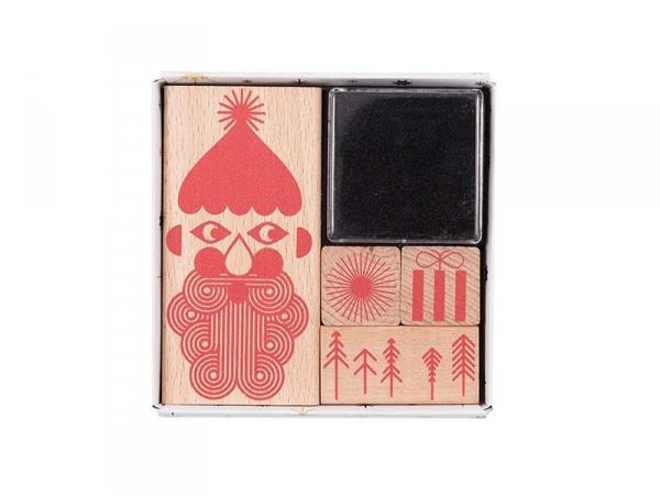 Acheter Set de tampons de Noël - rouge - 9,10€ en ligne sur La Petite Epicerie - 100% Loisirs créatifs