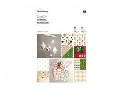 Motivpapierblock - Weihnachten