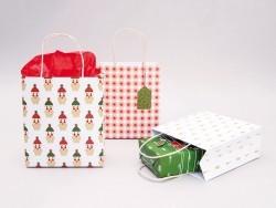 3 gift bags - Christmas