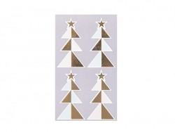 Stickers - sapins pastels