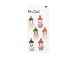 3D stickers - Santa Claus
