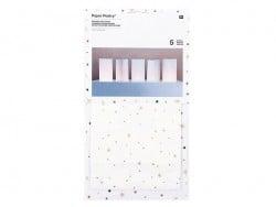 Acheter 5 grands sachets papier photophore - flocon avec dorure - 7,20€ en ligne sur La Petite Epicerie - 100% Loisirs créatifs