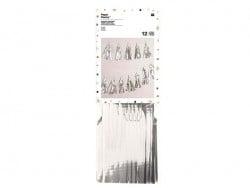 Guirlande en papier - glands argentés Rico Design - 1