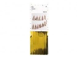 Guirlande en papier - glands dorés