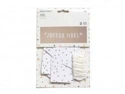 Acheter Guirlande en papier - Joyeux Noël - 9,40€ en ligne sur La Petite Epicerie - Loisirs créatifs