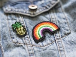 Patch thermocollant - mini ananas