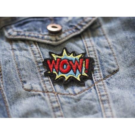 Acheter Patch thermocollant - WOW - 2,49€ en ligne sur La Petite Epicerie - Loisirs créatifs