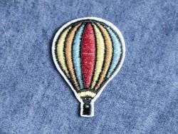 Ecusson thermocollant montgolfière