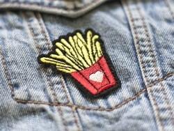 Acheter Ecusson thermocollant vive les frites - 2,49€ en ligne sur La Petite Epicerie - 100% Loisirs créatifs