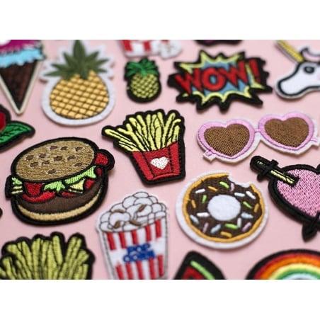 Acheter Ecusson thermocollant vive les frites - 2,49€ en ligne sur La Petite Epicerie - Loisirs créatifs