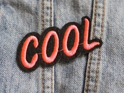 Iron-on patch - Cool