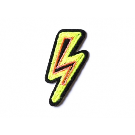 Acheter Ecusson thermocollant éclair fluo - 2,49€ en ligne sur La Petite Epicerie - 100% Loisirs créatifs