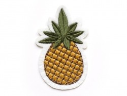 Iron-on patch - pineapple
