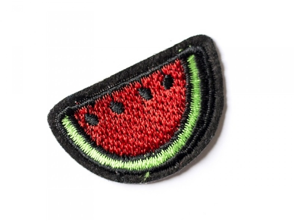 Iron-on patch - watermelon slice