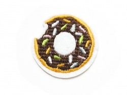 Iron-on patch - doughnuts