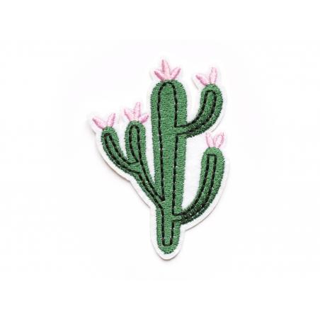Acheter Patch thermocollant cactus à fleurs - 2,49€ en ligne sur La Petite Epicerie - Loisirs créatifs