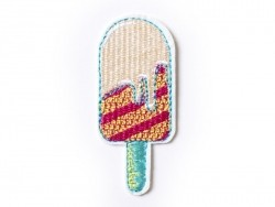 Iron-on patch - popsicle