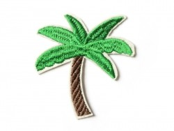 Iron-on patch - palm tree