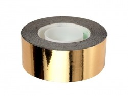 Gold-coloured tape