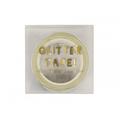 Acheter Ruban adhésif chevrons à paillettes dorées - 6,50€ en ligne sur La Petite Epicerie - 100% Loisirs créatifs